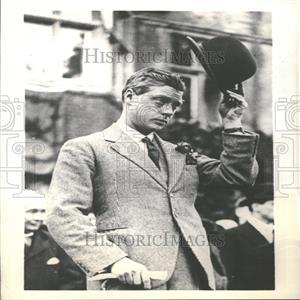 1936 Press Photo William Bake London Prince Wales Open