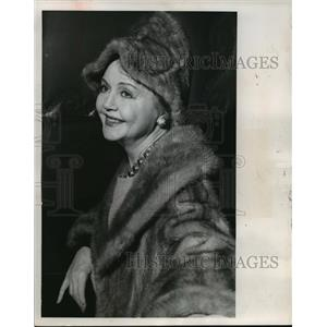 1964 Press Photo Actress Nancy Carroll Found Dead in her Apartment - mja58946
