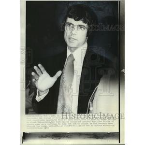 1973 Press Photo Houston Rockets Head Coach John Egan - mja58268