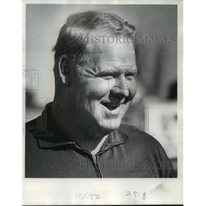1973 Press Photo Dave Hanner, Packer forceout - mja58579