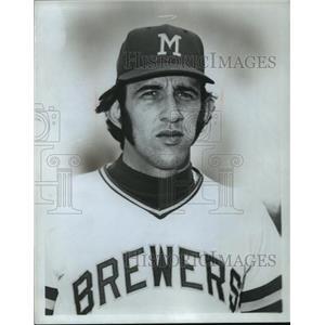 1973 Press Photo Baseball-Milwaukee Brewers Ray Newman - mja63326