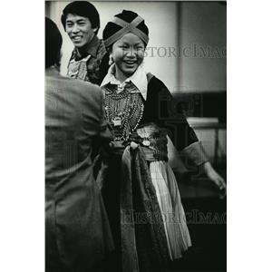 1980 Press Photo Laos Refugee-Blia Thao to perform at Wauwatosa Presb. Church