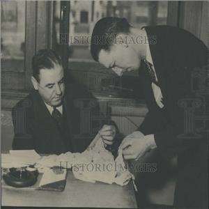 1934 Press Photo John McLaehlan CBI Investigator Mich