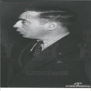 1937 Press Photo Francis J. Gorman Textile Union Leader