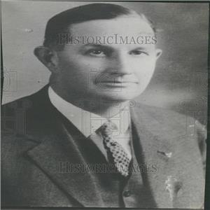 1938 Press Photo Cheyenne, WY Sheriff George Carroll