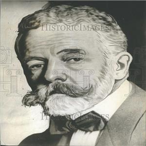 1908 Press Photo Senator Henry Cabot Lodge