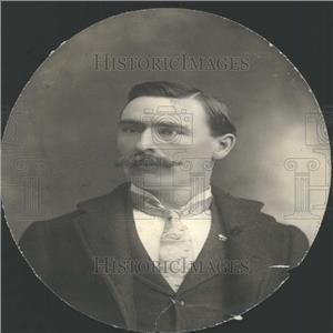 1901 Press Photo Lamar Sparks Editor J.T. Tawless