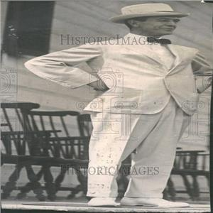 1919 Press Photo Diplomat, Politician Breckinridge Long