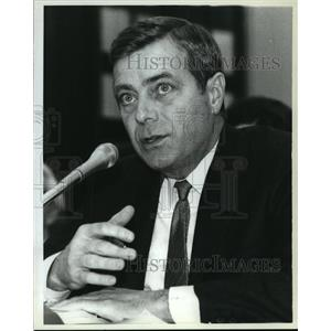 1982 Press Photo Drew Lewis, Transportation Secretary During FAA Strike