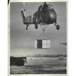 1959 Press Photo Helicopter - nef68607