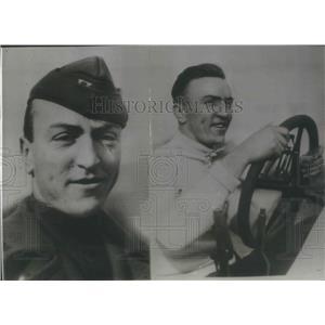 1916 Press Photo Capt. Eddie Rickenbacker won the title as American Ace Pilot