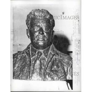 1961 Press Photo Bust of William Post - nef65971