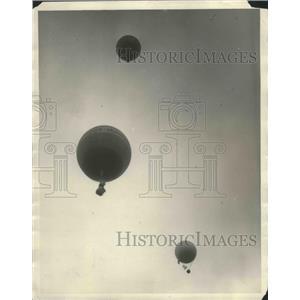 1927 Press Photo Scripps Howard Balloon - nef68470