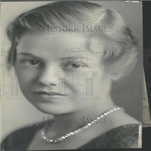 1931 Press Photo Miss Katherine Stubbs Kent School