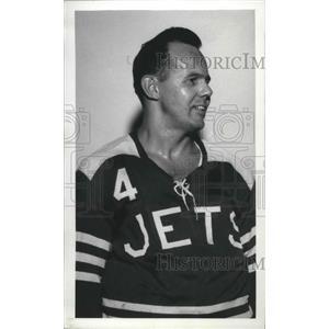 1970 Press Photo Spokane Jets hockey player, Tom Hodges - sps05407