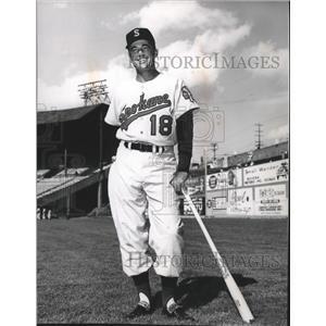 1963 Press Photo Spokane Indians baseball player, Preston Gomez - sps05627