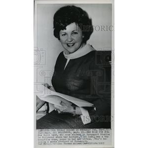 1965 Press Photo Sue Carol Ladd Becomes Movie Producer at Paramount - mja65701