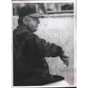 1971 Press Photo Spokane Indians baseball manager, Tommy Lasorda - sps06475