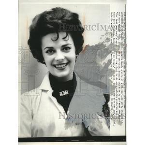 Actress Natalie Wood in Hollywood California1959 Press Photo  - neo12827