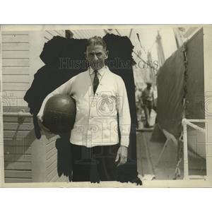 """1926 Press Photo Heavyweight Boxfigter of Navy Wallace """"Mark"""" Hanna - neo13870"""