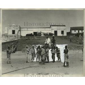 1929 Press Photo Howdah on murderers island - neo22222